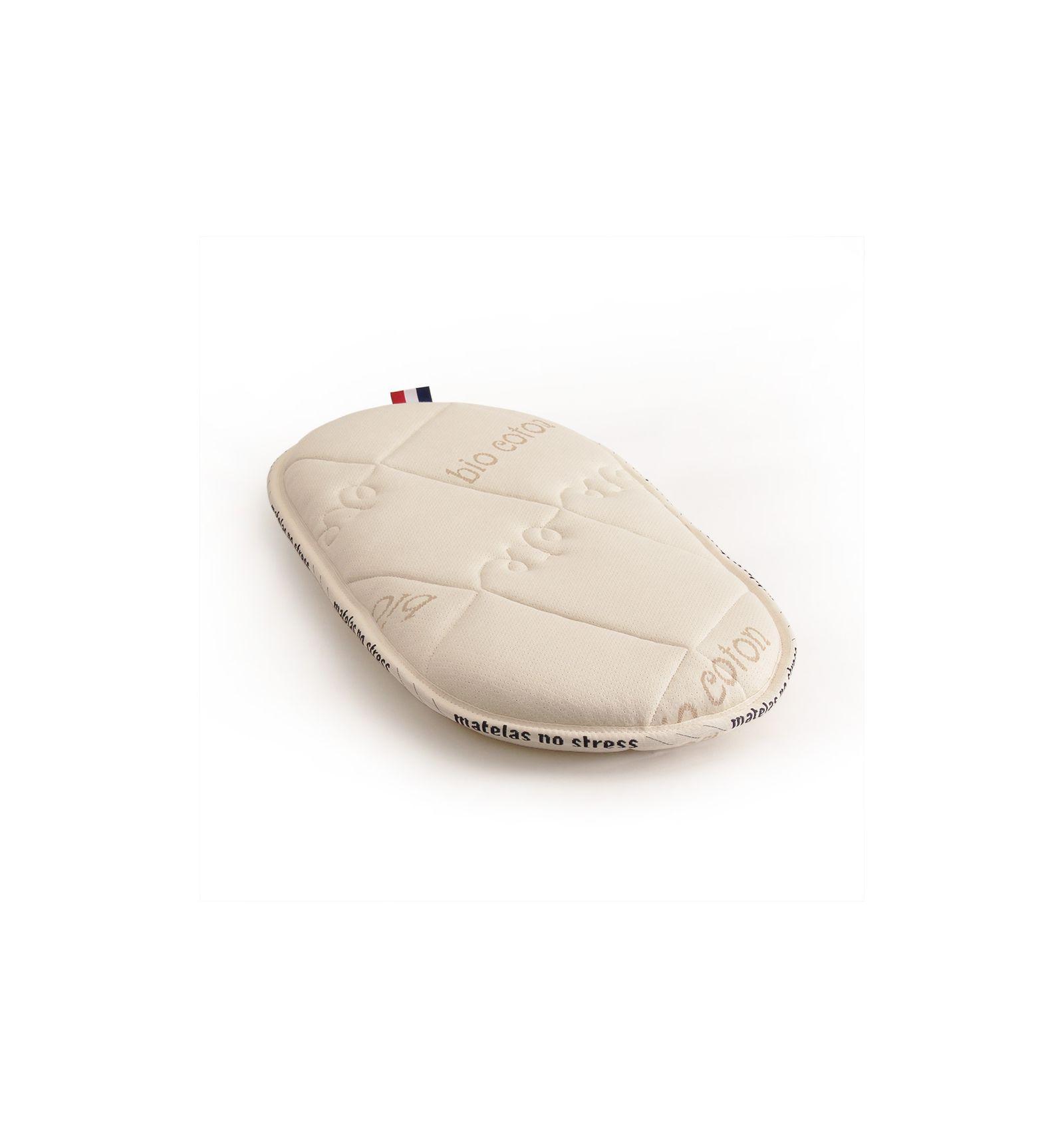 matelas pour berceau ovale 50 90 en mousse haut de gamme. Black Bedroom Furniture Sets. Home Design Ideas