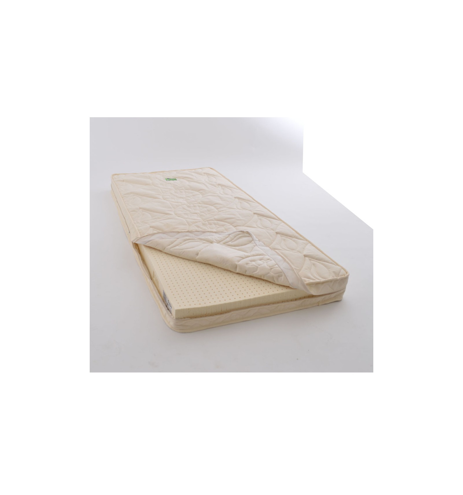 matelas b b bio 70x150 latex naturel enveloppe. Black Bedroom Furniture Sets. Home Design Ideas