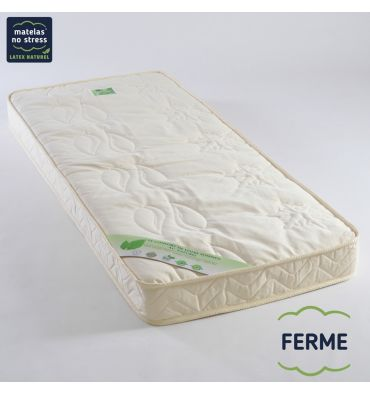 matelas b b 60x140 100 latex naturel couffin matelas. Black Bedroom Furniture Sets. Home Design Ideas