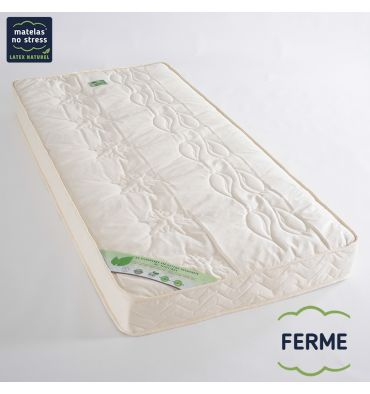 matelas haut de gamme bio 80x190 en 100 latex naturel couffin matelas. Black Bedroom Furniture Sets. Home Design Ideas