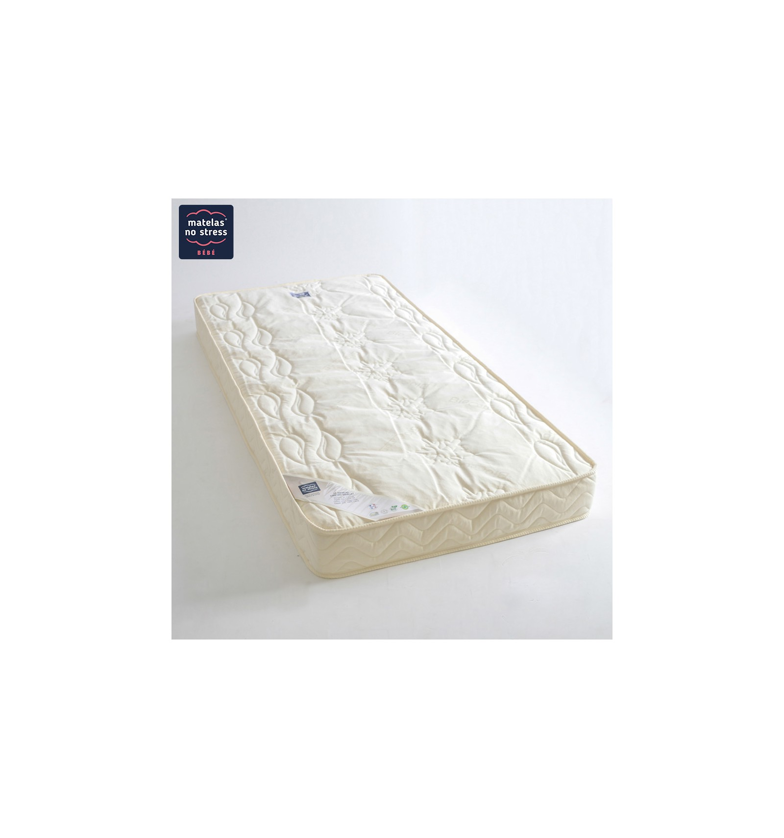 matelas 90x140 double face enveloppe laine bio couffin matelas. Black Bedroom Furniture Sets. Home Design Ideas