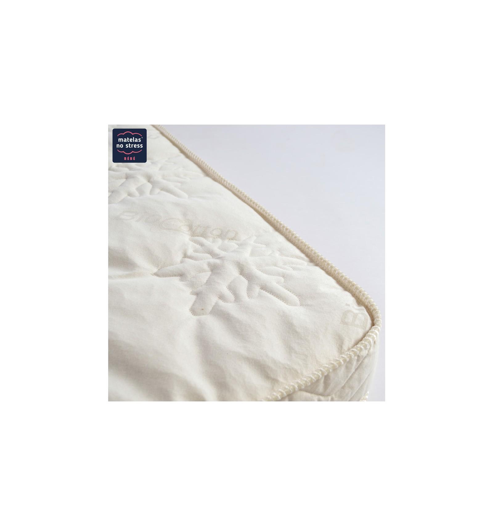 matelas 80x190 mousse laine et coton bio. Black Bedroom Furniture Sets. Home Design Ideas