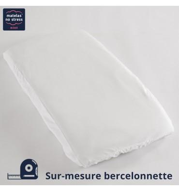 Alèse PVC sur Mesure pour Matelas Bercelonnette