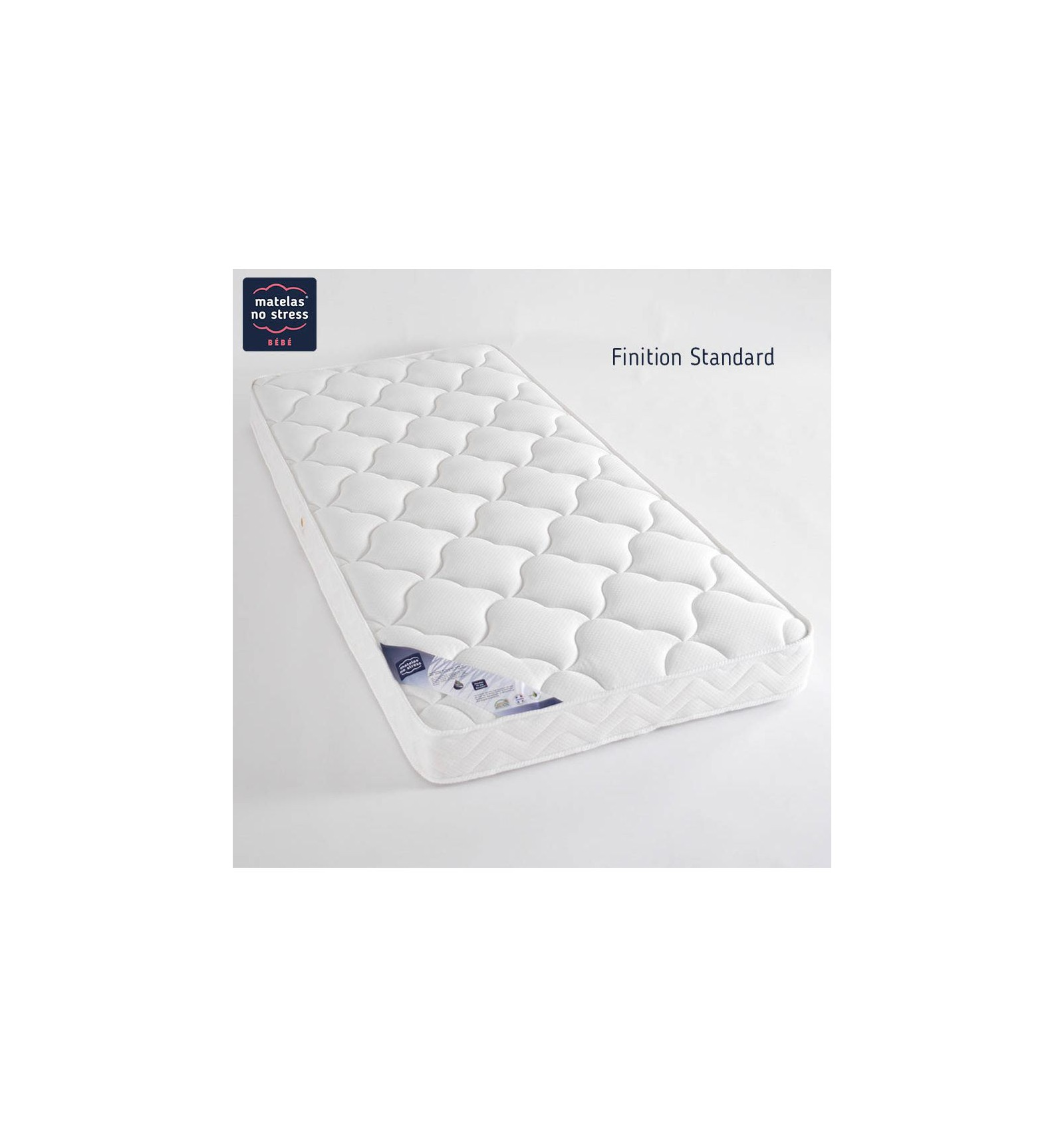 matelas b b 70x130 en latex grand confort couffin. Black Bedroom Furniture Sets. Home Design Ideas