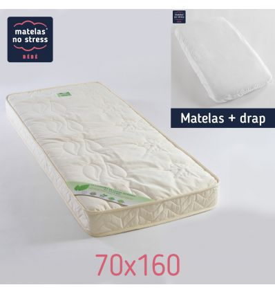 Matelas 70x160 Fibres de Coco