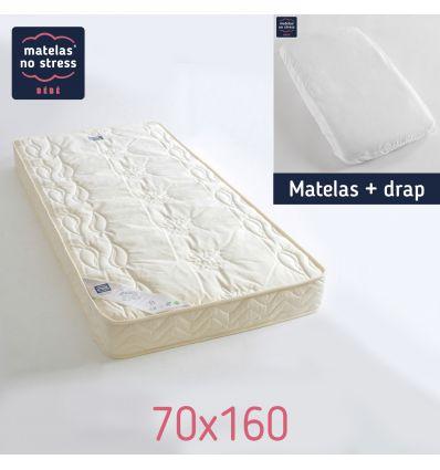 Matelas 70x160 Confort Douillet
