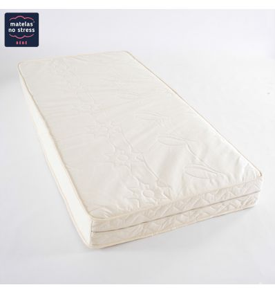 Matelas Bio 80x190 déhoussable LATEX NATUREL 80*190