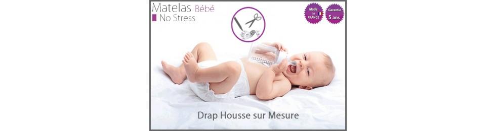 Drap housse et protection literie lit enfant couffin for Drap housse 40x90