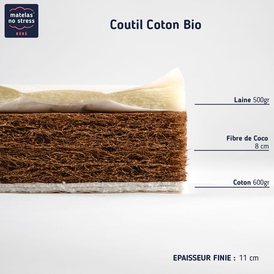 notre matelas en fibres de coco