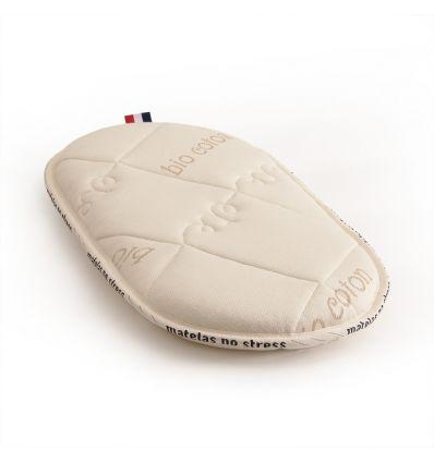 Le matelas 50x90 ovale bio laine et coton bio