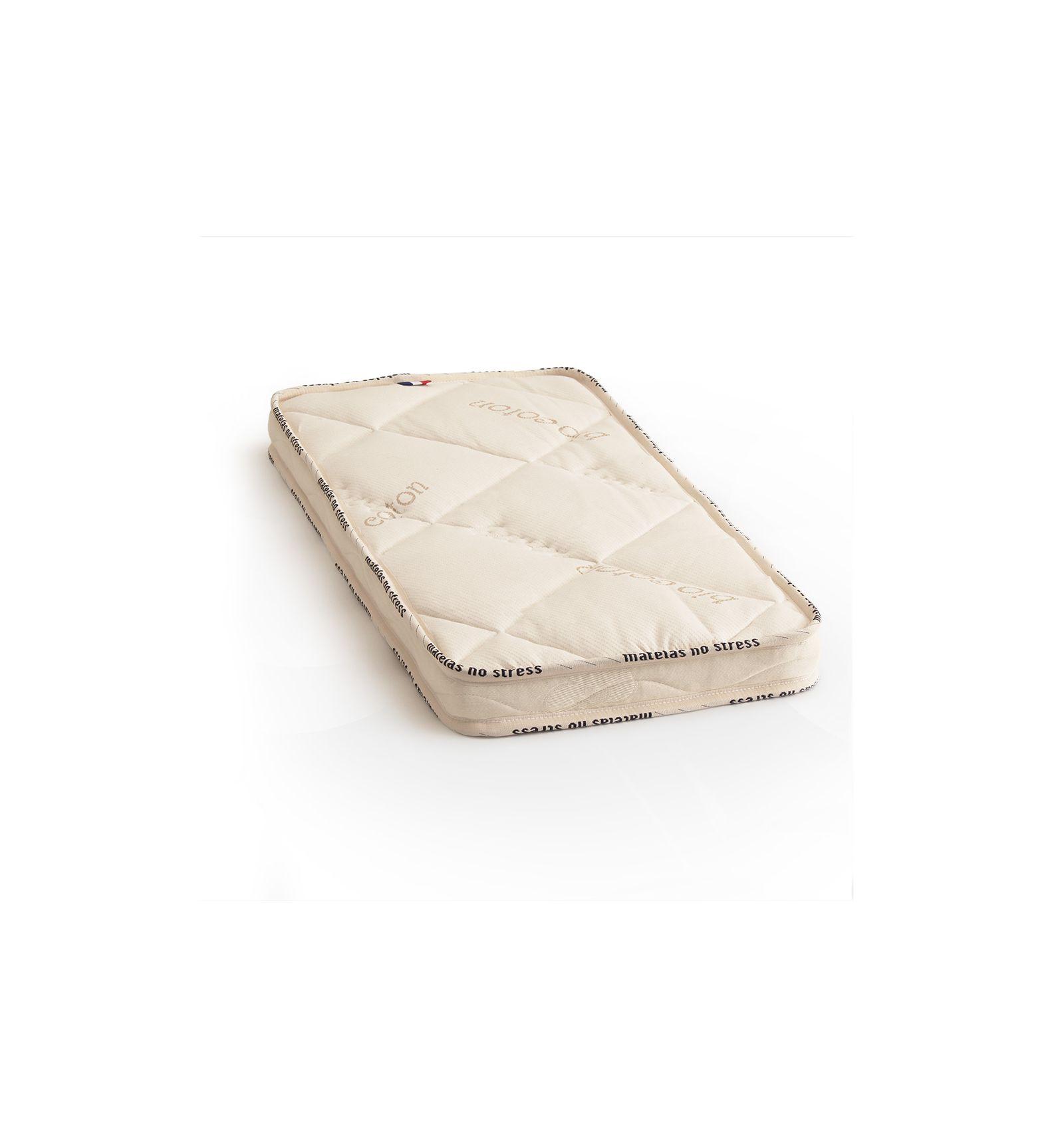 Matelas en Bambou pour lit berceau 40x90 cm