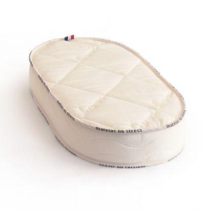 Le matelas couffin 50x80 laine et coton bio 12 cm