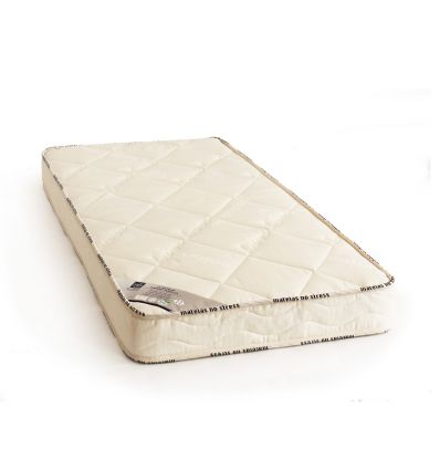 Matelas mousse laine et coton bio pour son nouveau lit