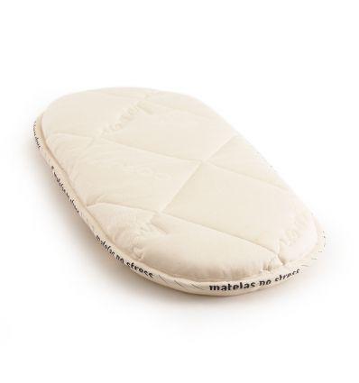 Le matelas couffin 76x29 laine et coton bio