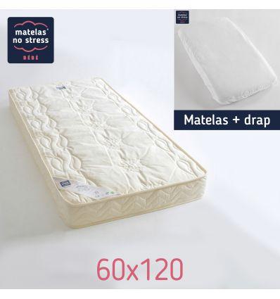 Matelas 60x120 Confort Douillet