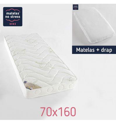 Matelas 70x160 confort Anti Acariens